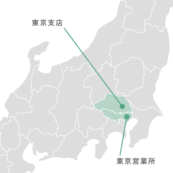 マップ(関東エリア)
