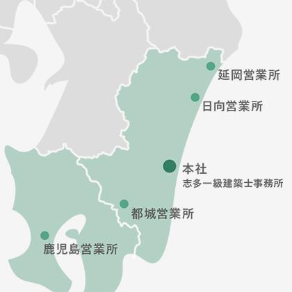 マップ(九州エリア)